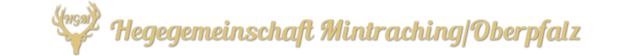 Jagd Mintraching